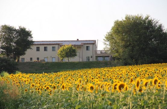Farmhouse/B&B for sale in Le Marche with sea view and high energy performance