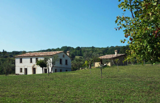 Price Reduced. Partially restored farmhouse for sale in Macerata