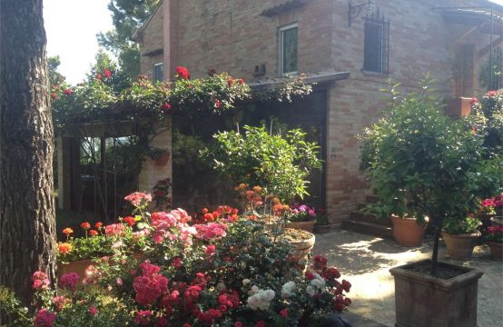 Luxury restored farmhouse with sea view in Fermo