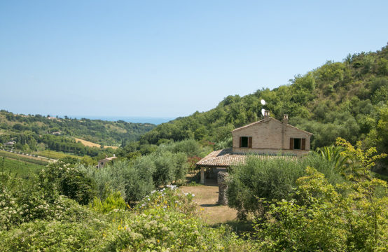 PRICE REDUCED. Restored house near the sea for sale in Marche