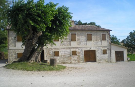 Large farmhouse for sale in Le Marche, Arcevia