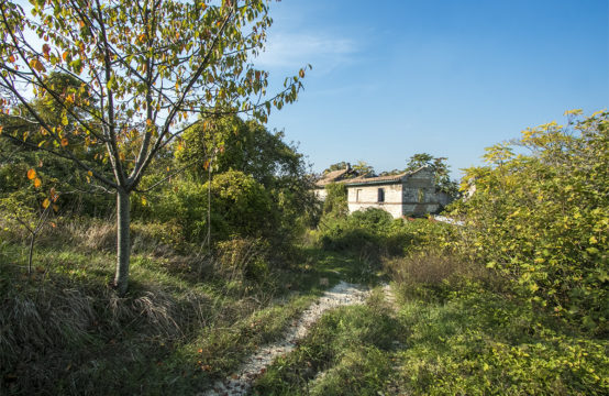 "Country house to be restored in the ""Parco del Conero"""