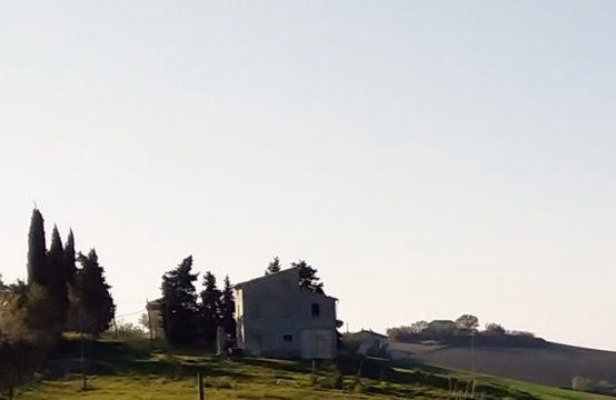 Terreno edificabile con splendida vista mare e colline in vendita a Recanati